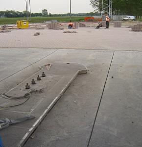 Nieuwe betonvloeren